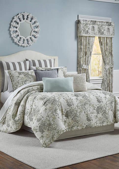 Kensington Bloom 4 Piece Comforter Set