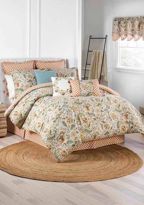 4 Piece Imperial Dress Comforter Set