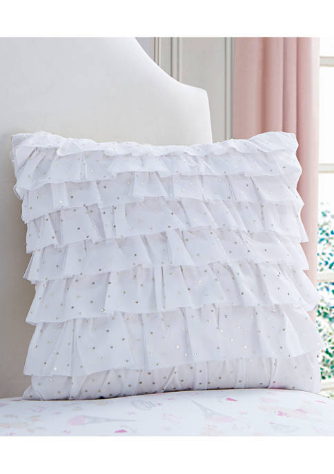 Amelia Tulle Decorative Pillow