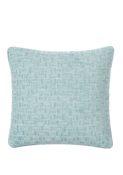 18 in x 18 in Imperial Dress Textured Decorative Pillow