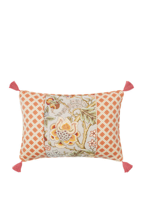 14 in x 20 in Imperial Dress Pieced Decorative Pillow