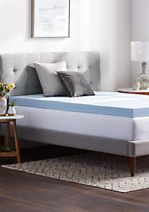 LUCID Dream Collection 4 Inch Gel Memory Foam Mattress Topper
