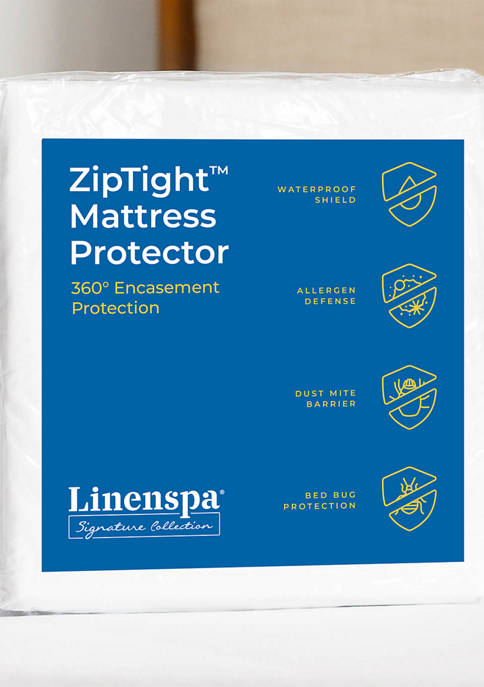 LINENSPA Signature Encasement Mattress Protector