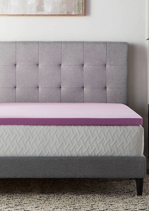 LUCID Dream Collection 2 Inch Lavender Memory Foam