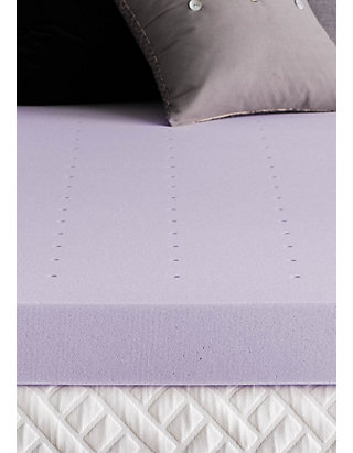 Dream Collection 4 Inch Lavender Memory Foam Topper