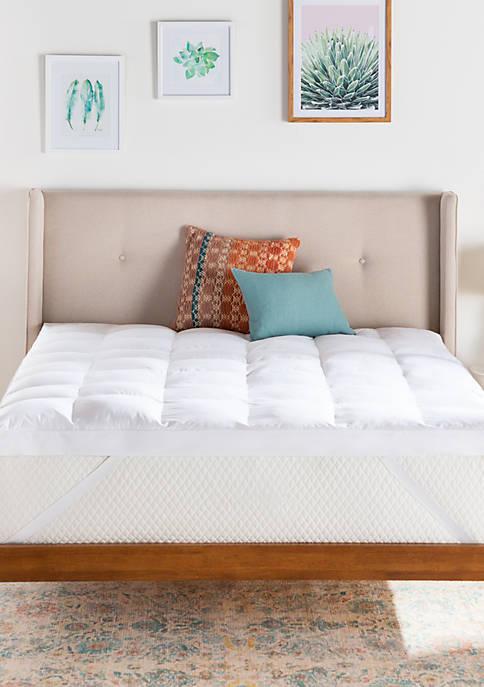 Linenspa Signature 3 Inch Down Alternative Fiber Bed