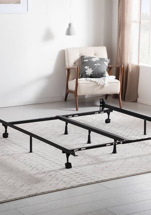 Dream Collection Universal Adjustable Metal Bed Frame with