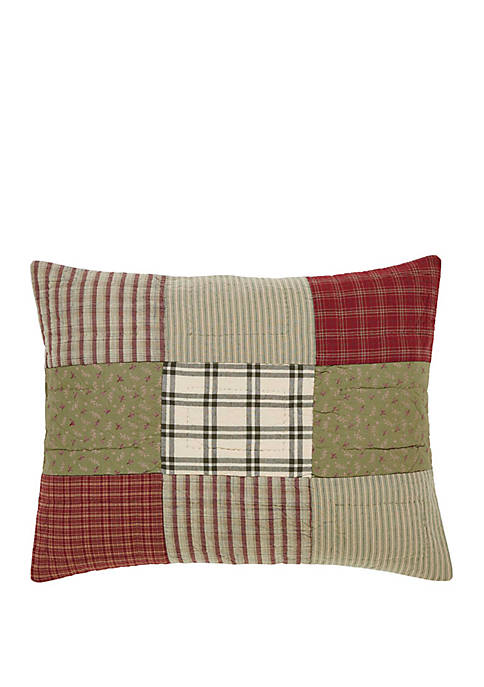 Ashton & Willow Red Farmhouse Bedding Cottage Path