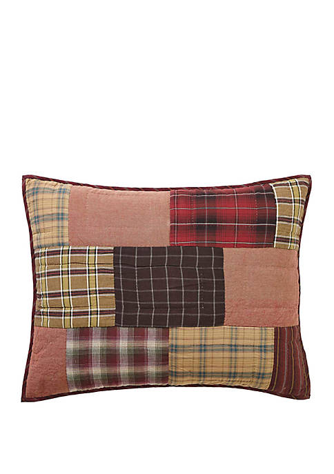 Ashton & Willow Red Rustic & Lodge Cotton
