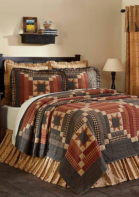 Ashton & Willow Tan Primitive Bedding Cobblestone Cotton
