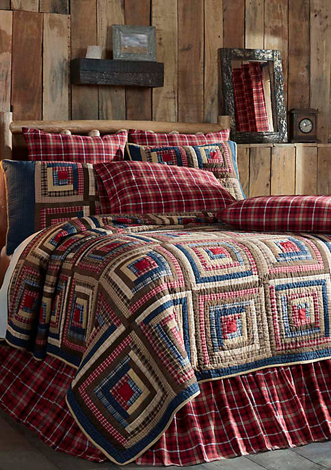 Ashton & Willow Blue Rustic & Lodge Bedding