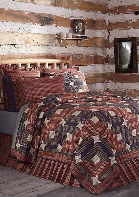 Ashton & Willow Red Rustic & Lodge Cotton
