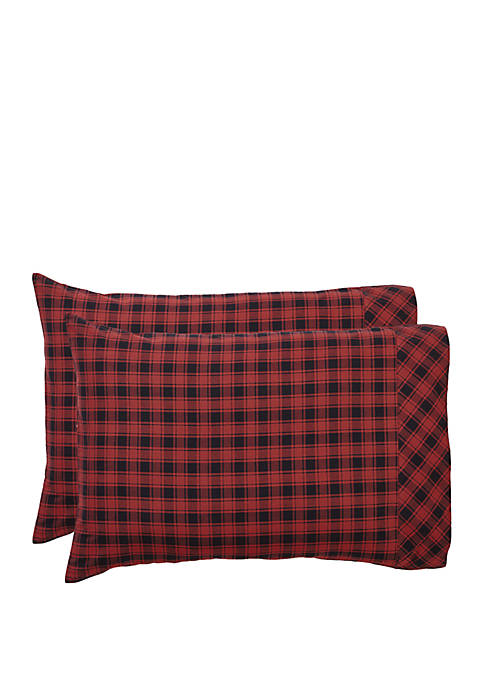 Ashton & Willow Red Rustic and Lodge Bedding