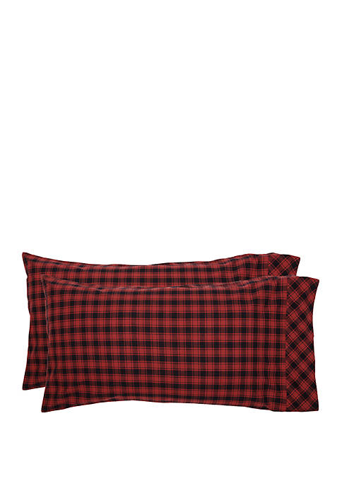 Ashton & Willow Red Rustic Bedding Shasta Cabin