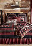 Red Rustic Bedding Shasta Cabin Quilt