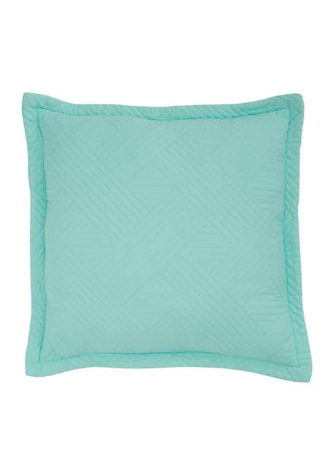 Crown & Ivy™ Beach Glass Decorative Pillow