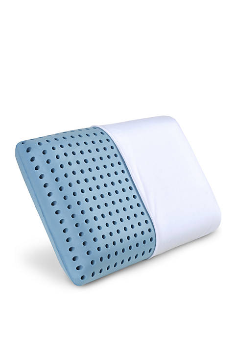 PharMeDoc LunaBLUE Cooling Memory Foam Bed Pillow