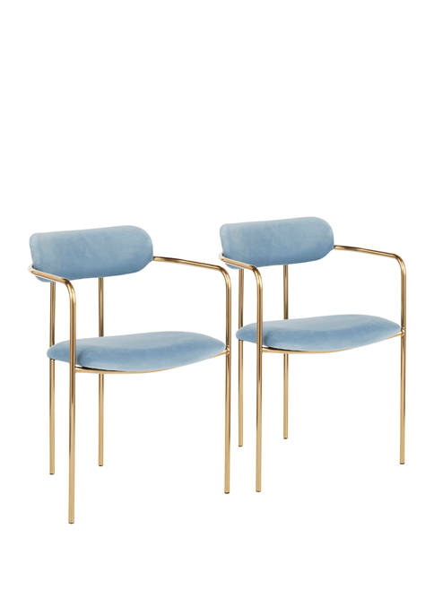 LumiSource Set of 2 Demi Chairs