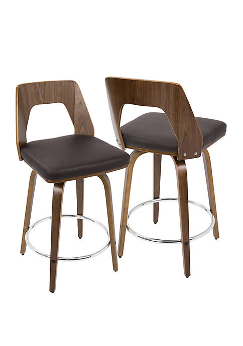 Trilogy 24 in Counter Stool Pair