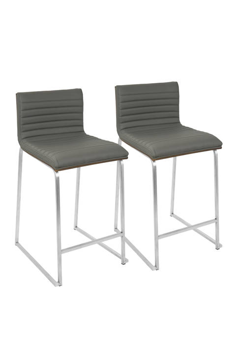 Set of 2 Mara Counter Stool