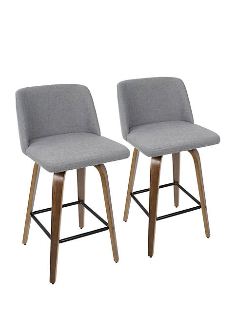 Toriano Counter Stool Pair