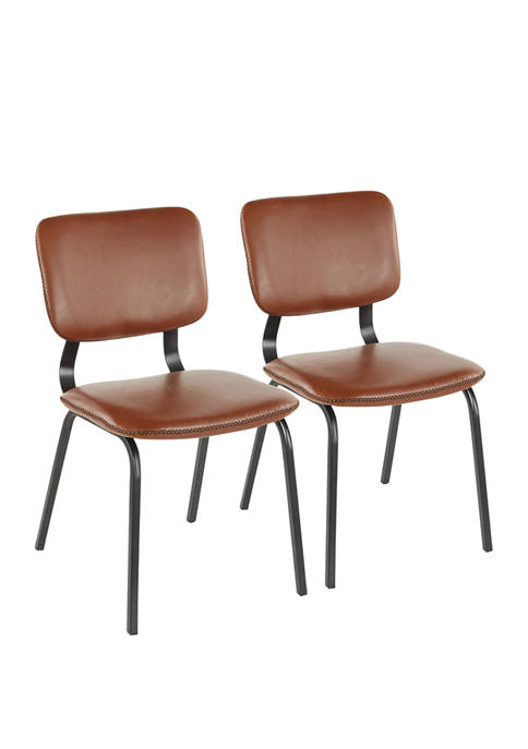 LumiSource Set of 2 Foundry Chairs