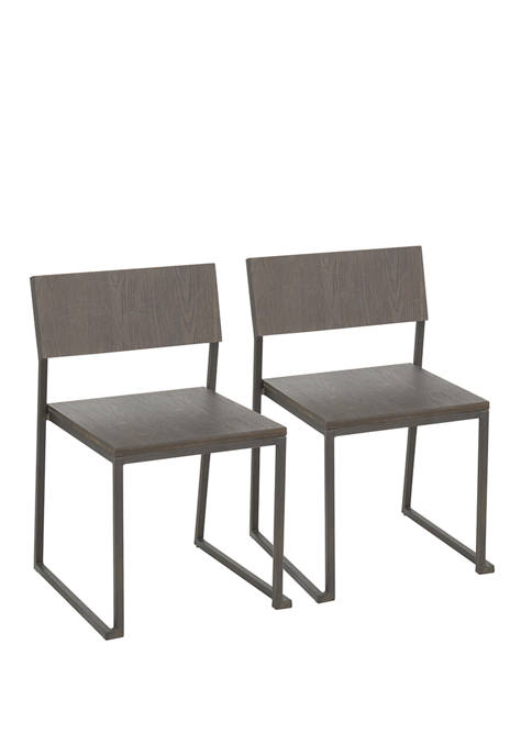 LumiSource Industrial Fuji Chairs