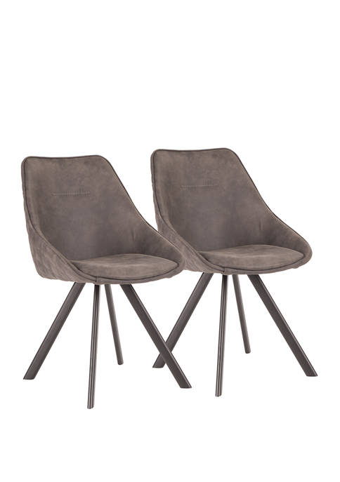 LumiSource Set of 2 Marche Chairs