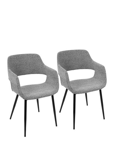 LumiSource Set of 2 Margarite Chair