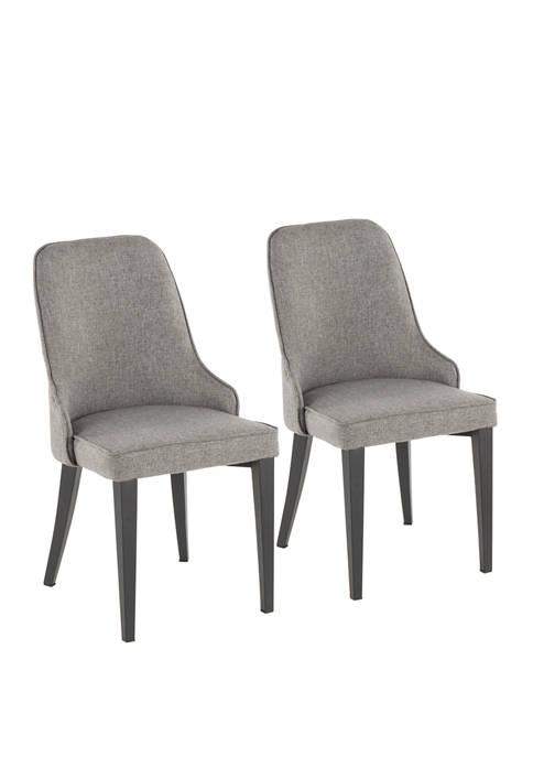 LumiSource Set of 2 Nueva Chairs