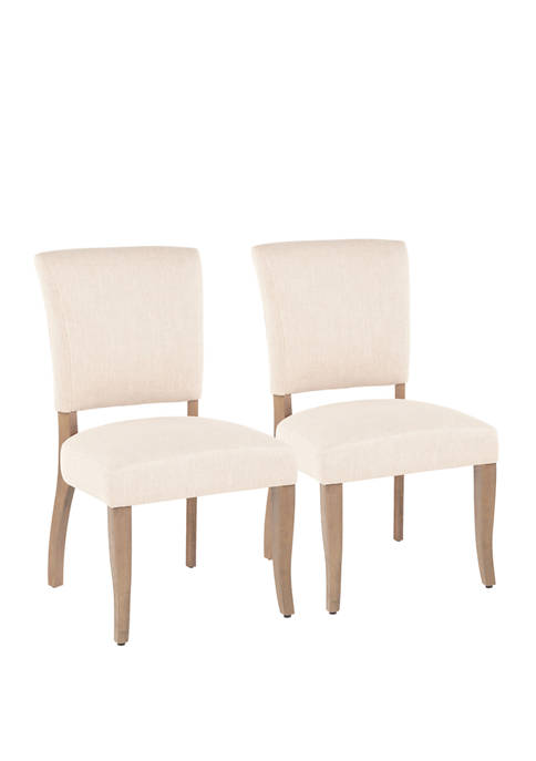 LumiSource Set of 2 Rita Dining Chairs