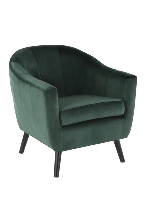 LumiSource Rockwell Accent Chair Velvet