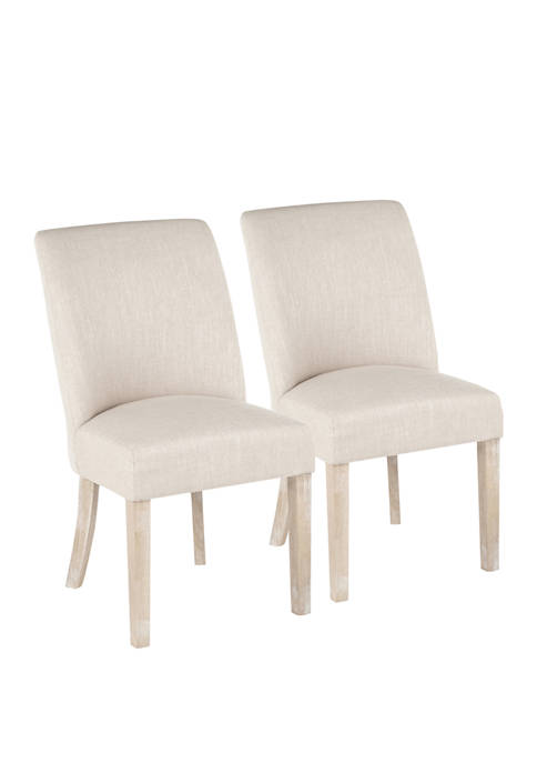 LumiSource Set of 2 Tori Dining Chairs