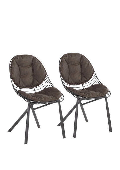 LumiSource Set of 2 Wired Chairs
