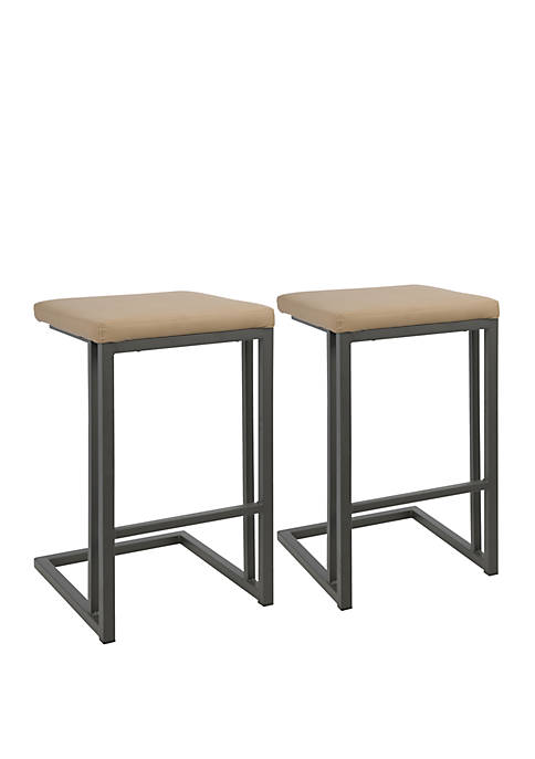 LumiSource Roman Counter Stool Pair