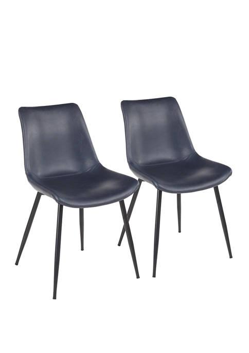 LumiSource Set of 2 Durango Dining Chairs