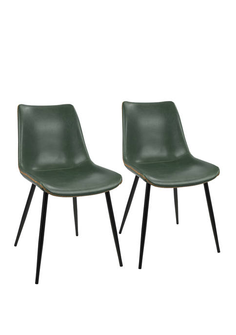 LumiSource Set of 2 Durango Dining Chairs