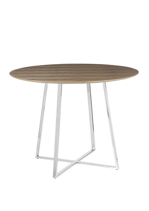 LumiSource Cosmo Dining Table Walnut