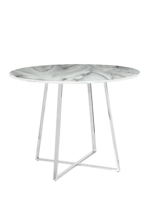 LumiSource Cosmo Dining Table Marble