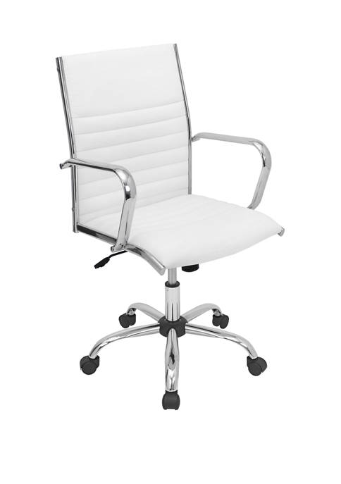 LumiSource Master Office Chair Chrome