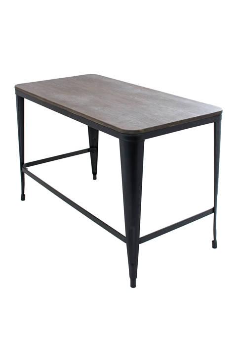 LumiSource Pia Industrial Desk