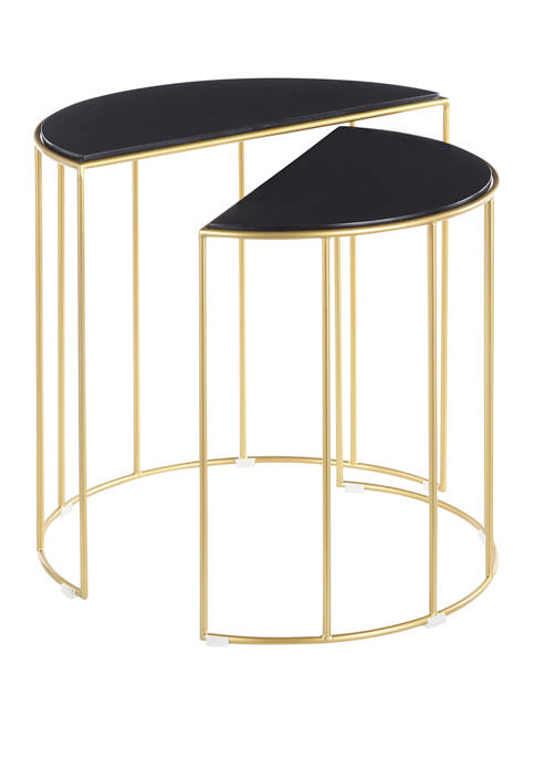 LumiSource Canary Nesting Table