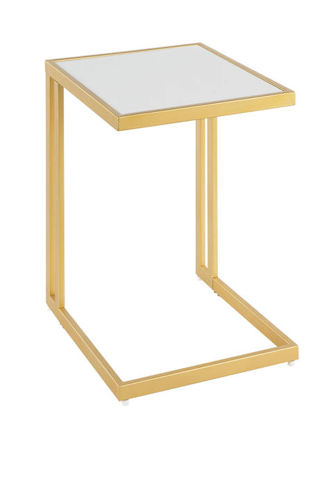 LumiSource Roman Side Table Gold