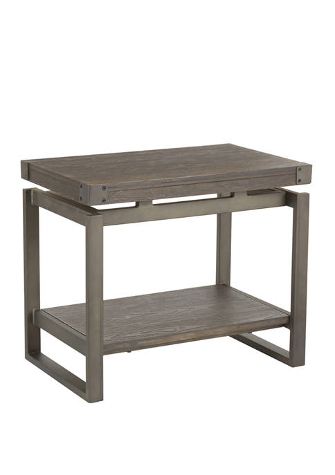 LumiSource Drift End Table