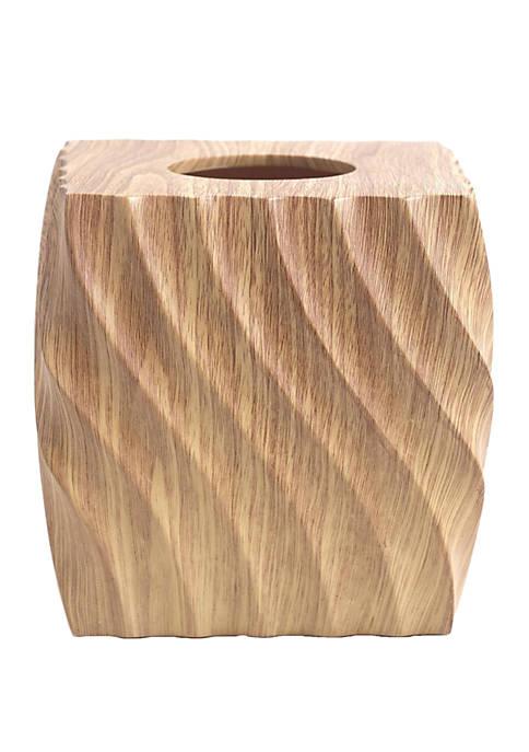 Wood Works Boutique Tissue Holder
