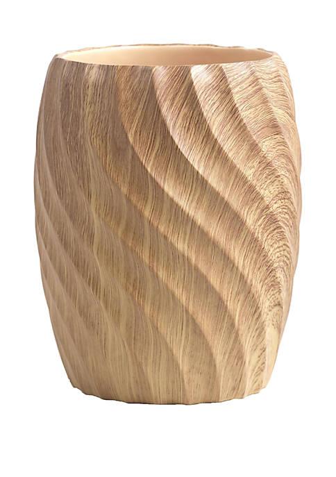 Wood Works Wastebasket