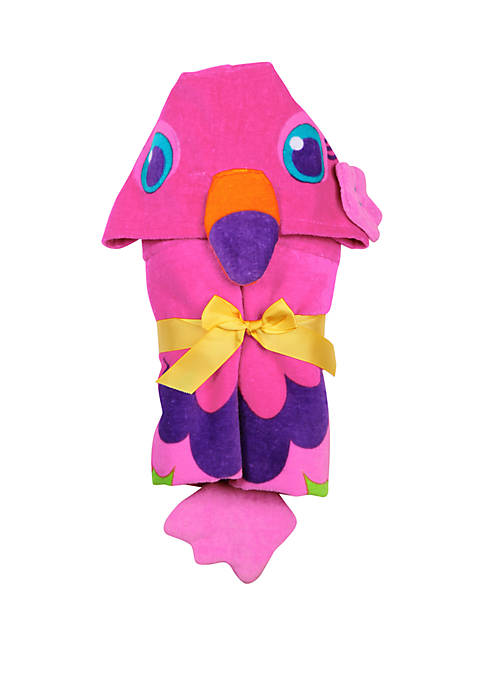 Stephen Joseph Flamingo Hooded Towel