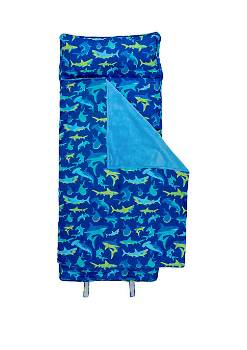 Allover Shark Print Nap Mat
