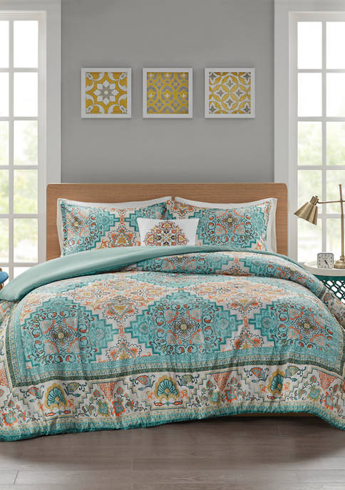 JLA Home Deliah Duvet Cover Set