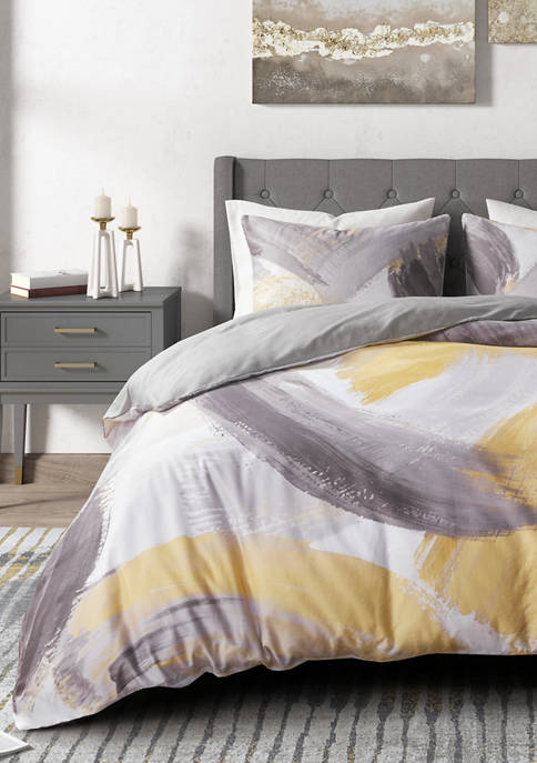 CosmoLiving Andie Cotton Printed Comforter Set